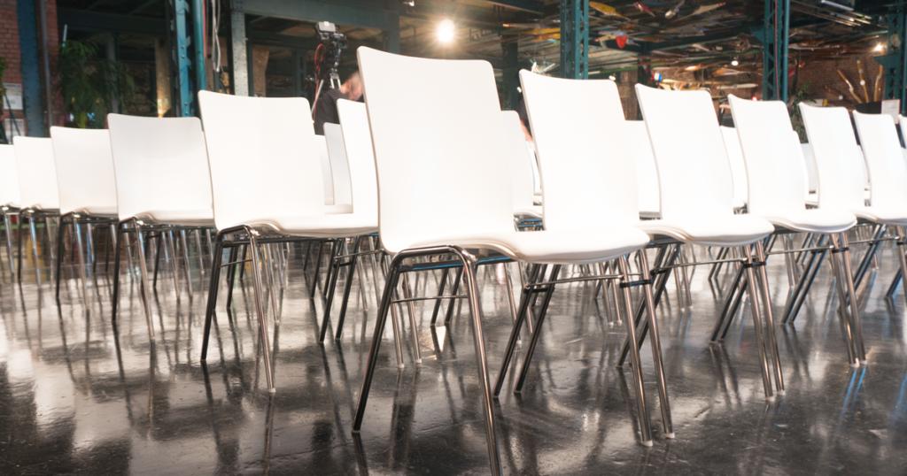 Konferenz Tagung Stühle mieten
