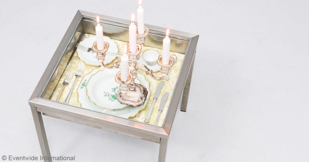 Tischdeko EVENTWIDE Couchtisch Barock