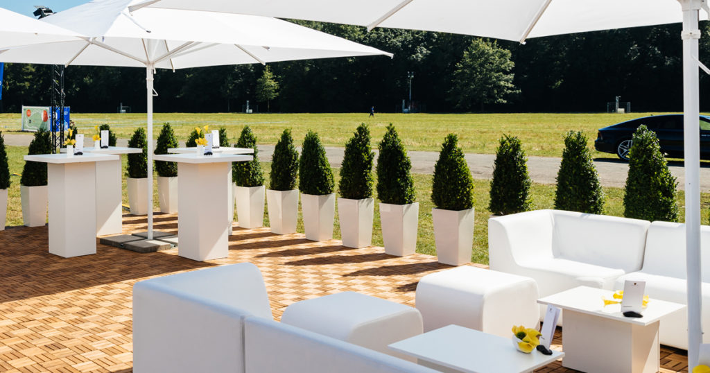 Abiball Outdoor Loungemöbel mieten