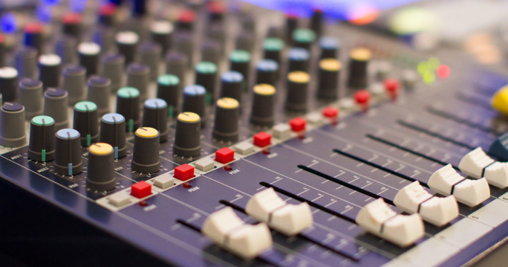 Bild Abiball Tontechnik Soundanlage mieten