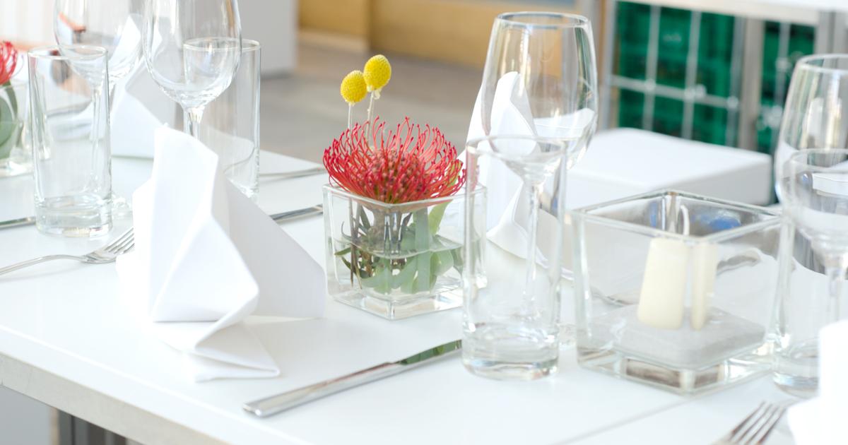 EVENTTOOL24 Tisch Zubehör mieten Hochzeit