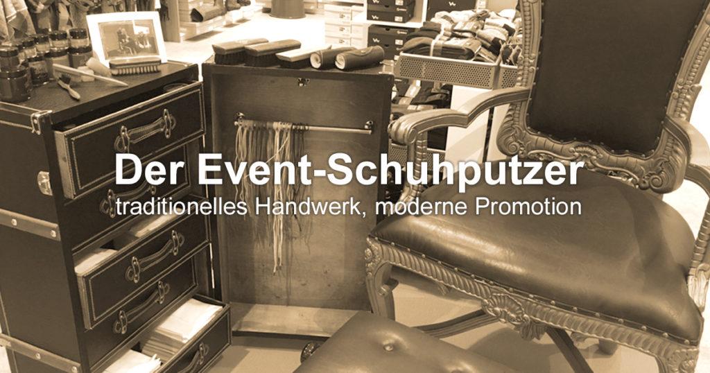 ShoeShineBoy Event-Schuhputzer Ausstattung
