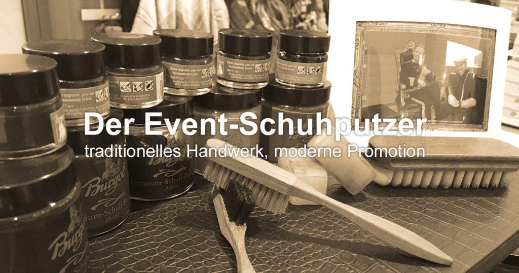 ShoeShineBoy Event-Schuhputzer mieten