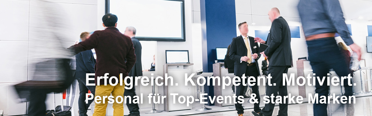 24 Promotion Personal für Events