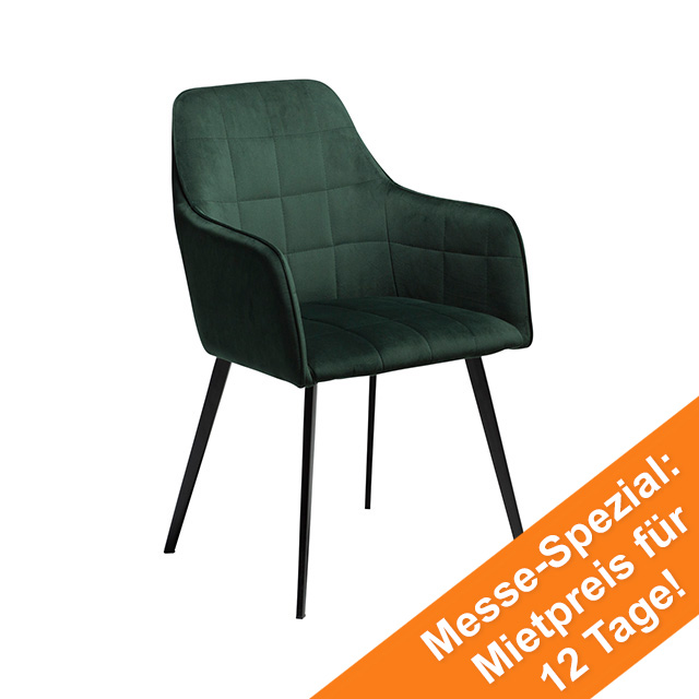 Embrace Dining Chair | Emerald Green