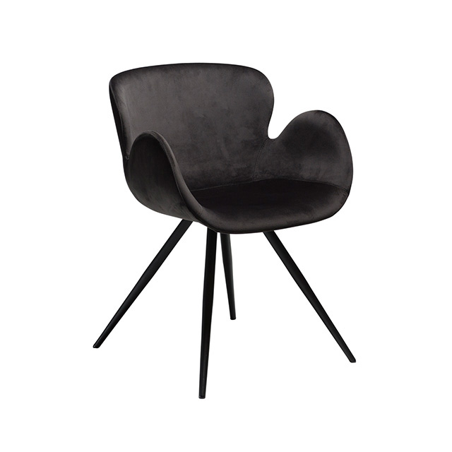 Gaia Dining Chair | Meteorite Black