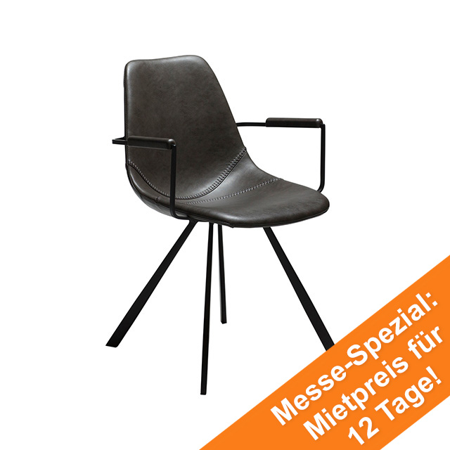 Pitch Dining Chair mit Armen | Vintage Grey