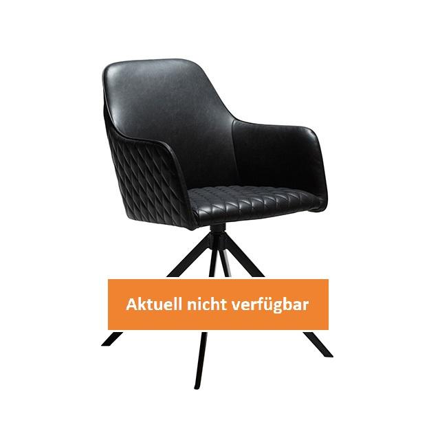 70008-eventtool24-Seminar- & Bankettstühle-Twine Dining Chair | Vintage Black