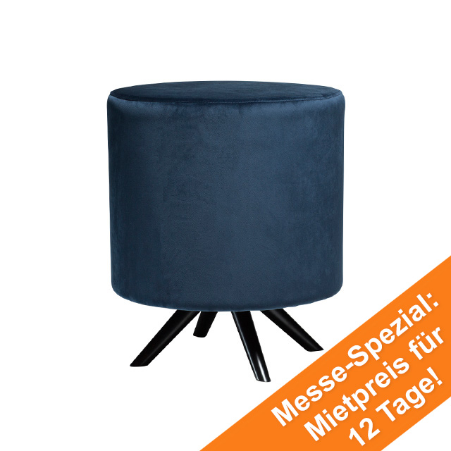 Blur Stool | Midnight Blue