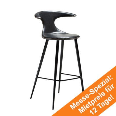 Flair Bar Stool | Vintage Black