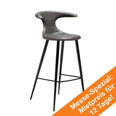 Flair Bar Stool | Vintage Grey