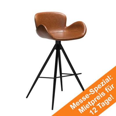 Gaia Bar Stool | Vintage Light Brown