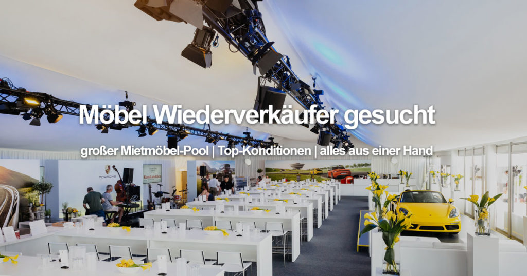 EVENTTOOL24 Technik Möbel Reseller