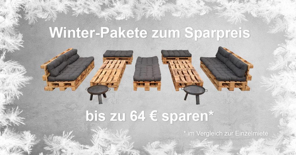 EVENTTOOL24 Winterliche Outdoor-Lounge