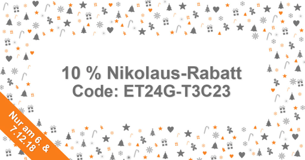 EVENTTOOL24 Nikolaus-Rabatt 2018