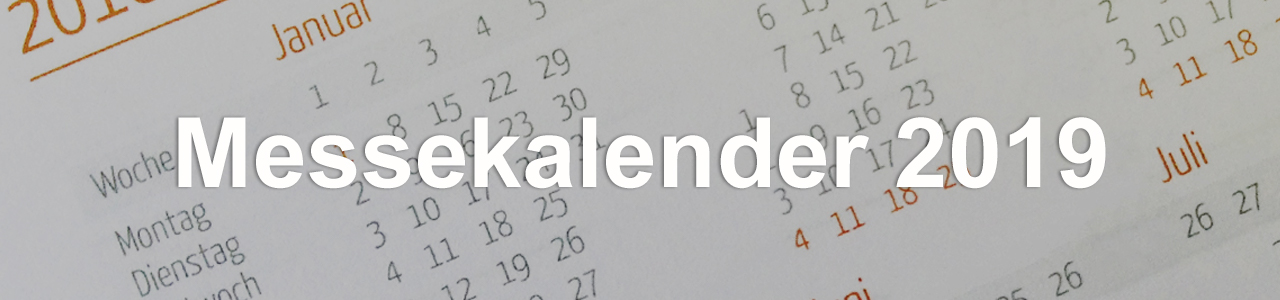 EVENTTOOL24 Messekalender 2019