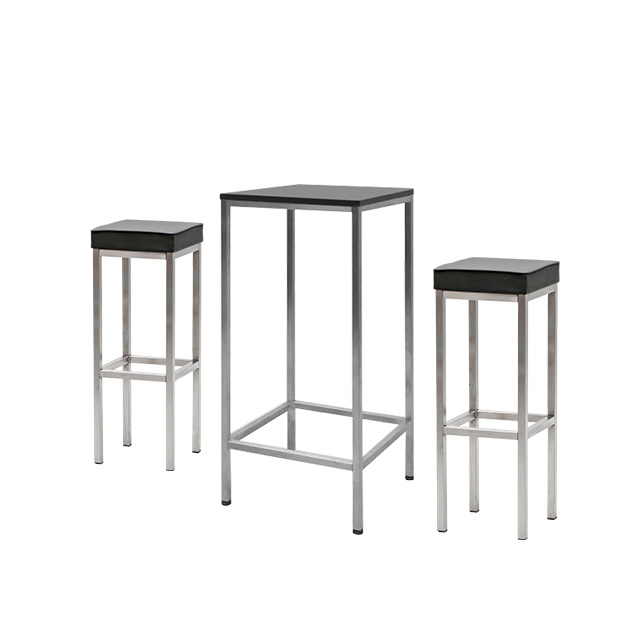 Stehtisch-Set EVENTWIDE Black 1
