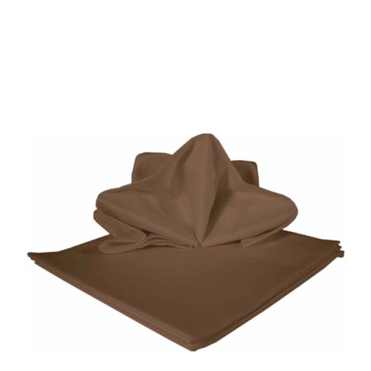 Tischdecke mocca | 130 x 130 cm